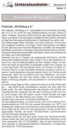 hdav-party-Mitteilungsblatt
