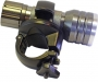 LED21 Video- und Foto Taschenlampe mit Rohrhalter