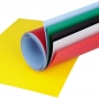 Hintergrund Kunststoff verschieden Farben für Makro-Fototisch