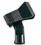 Mikrofon-Klemme auf kleinem Dreibeinstativ