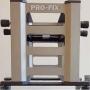 3x PRO-FIX, Stacking-Gestell, selbst-klemmend, auf 0,01mm genau