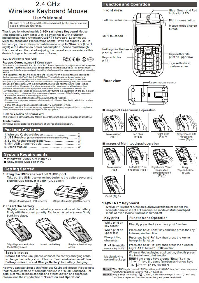 raytac_Keyboard-Mouse_Handbuch1