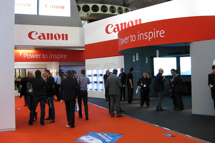 ISE Canon Stand