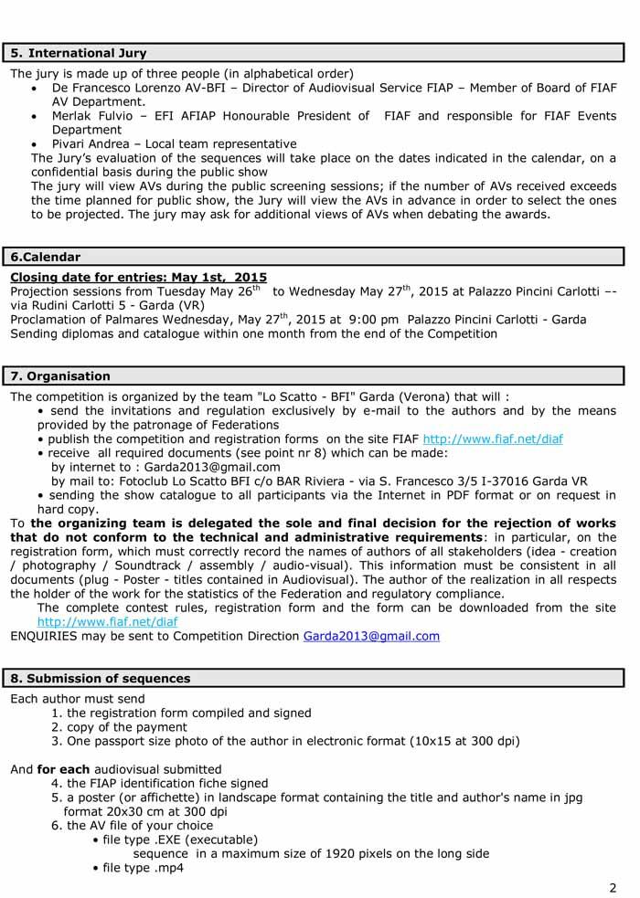 Regulation garda E-2015-2
