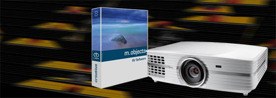 m objects 8 optoma