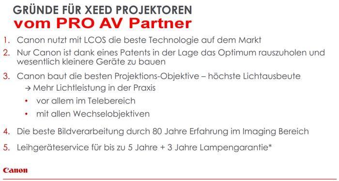 Pro-AV-Partner Gruende