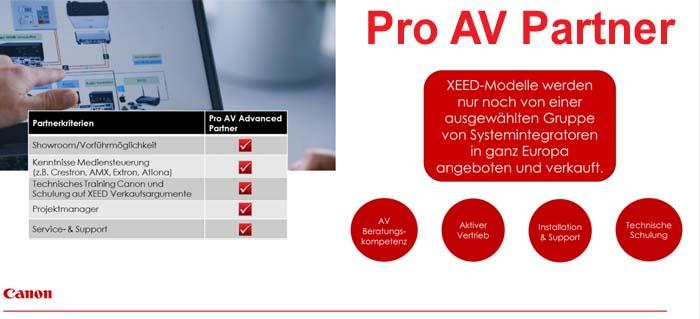Pro-AV-Partner gruppe