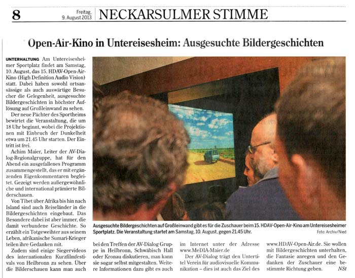 open-air nsu stimme